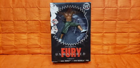 John Cena Unmatched Fury Platinum Edition Series 3 Wrestling Figure