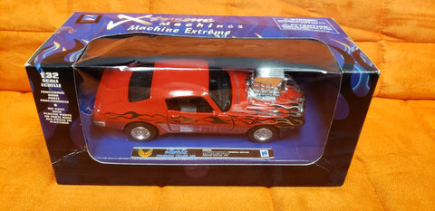 1973 Pontiac Trans Am Firebird Xtreme Machines 1/32 scale 2001 New Ray Toys