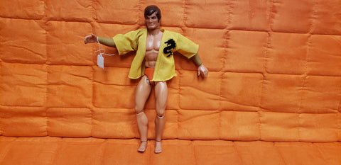1971 Mattel Big Jim Doll Action Figure Kung Fu Action Works Vintage