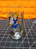 McDonalds/Coca-Cola Glass Tumbler Walt Disney Peter Pan 1980s
