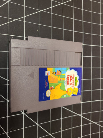 NES Sesame Street Big Bird's Hide and Speak