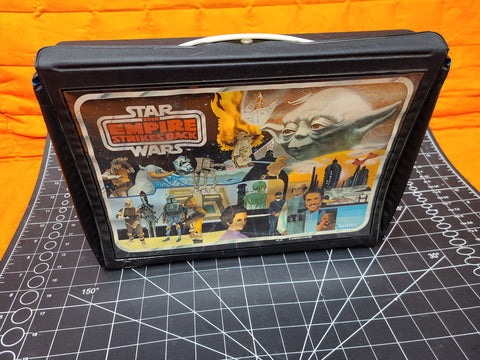 Star Wars Action Figure Collector's Case Empire Strikes Back Kenner 1981