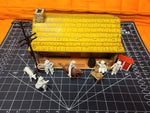 1950s Roy Rogers Rodeo Set Marx pressed steel playset