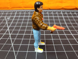 1990 James Bond JR shooting orange pistol action figure, Hasbro,