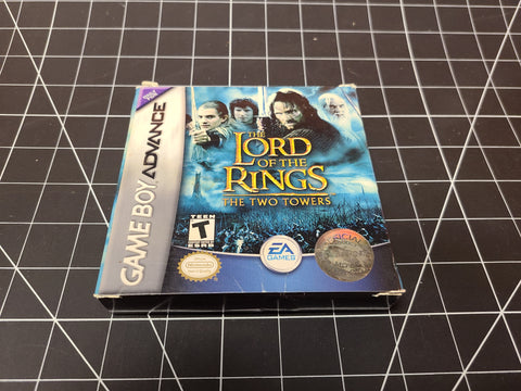 Gameboy Advance The Lord of the Rings Two Towers