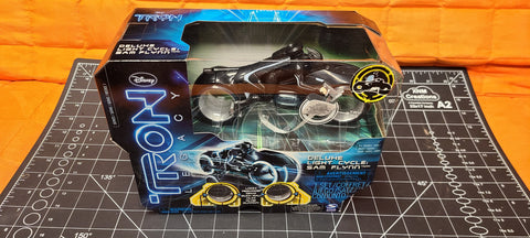 Deluxe Light Cycle Sam Flynn Tron Legacy Series 1 Vehicle Spin Master