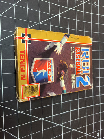 RBI Baseball 2 - Nintendo NES Game