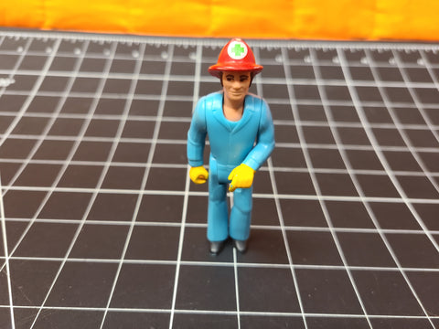 Vintage 1974 Fisher Price Adventure People Paramedic Fireman Action Figure