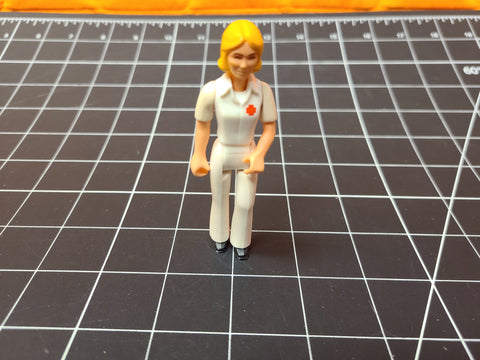 Vintage 1974 Fisher Price Adventure People Paramedic Nurse Action Figure