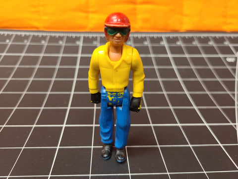 Vintage Fisher Price Adventure People Daredevil  Van Action Figure #318