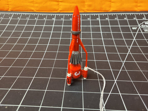 1992 Matchbox Tunderbirds 3 Alan Tracy Die-Cast Rocket Vehicle -