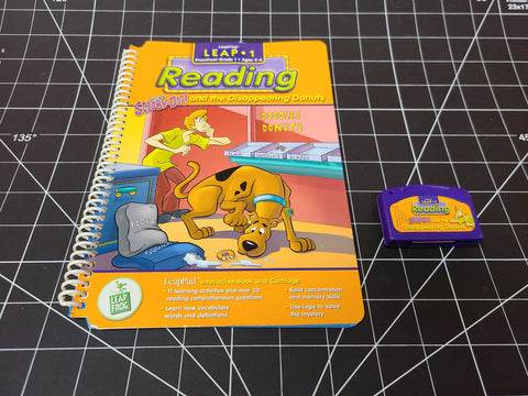 Scooby-Doo Reader#2 Disappearing Donuts  Leap Frog