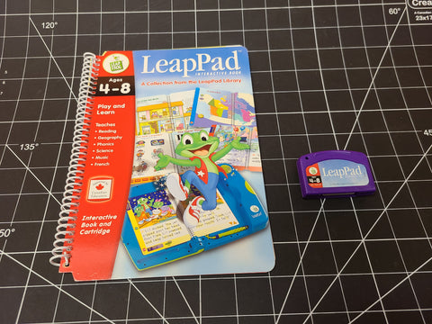 Leap Pad play & Learn Leap Frog reader