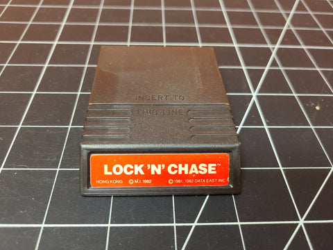 Lock 'n' Chase Mattel Intellivision Game 1982.