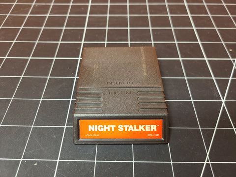 Vintage Mattel Intellivision Night Stalker Video Game Cartridge 1981.
