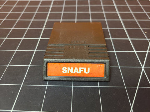 Vintage Mattel Intellivision Snafu Video Game Cartridge.