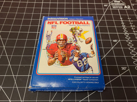 NFL Football Intellivision Complete