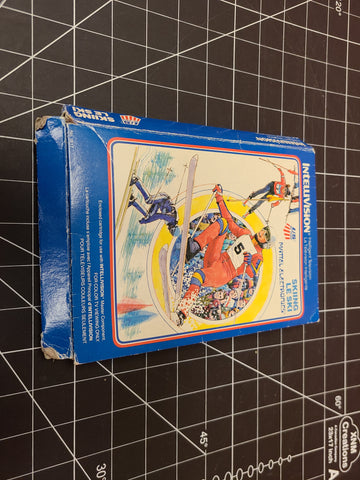 Mattel Intellivision/Coleco Skiing Game Complete with Box