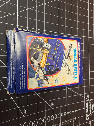 Intellivision Space Battle 1980