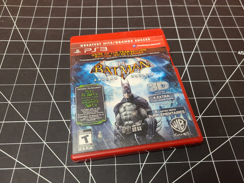 PS3 Batman Arkham Asylum Game of the Year