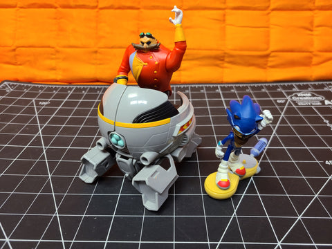 Sonic The Hedgehog Sonic Boom Sonic Vs. Dr. Eggman Action Figure Set TOMY, INC.