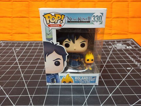 Funko Pop Nino Kuni II Roland with Higgledy