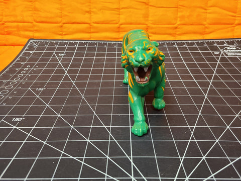 Vintage 1983 Motu Battle Cat Green Tiger He-Man Masters of the Universe