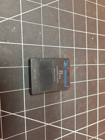 Genuine Playstation 2 PS2 8MB Memory Card Sony