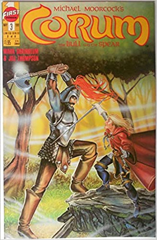 Corum The Bull and the Spear #3 1989.