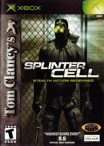 XBOX Splinter Cell Stealth Action Redefined