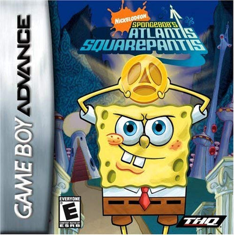 Gameboy Advance Spongebob Atlantis Squarepantis
