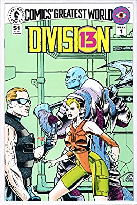 Division 13 Comic Book #1 (1993) from Dark Horse Comics // Comic's Greatest World Week 1