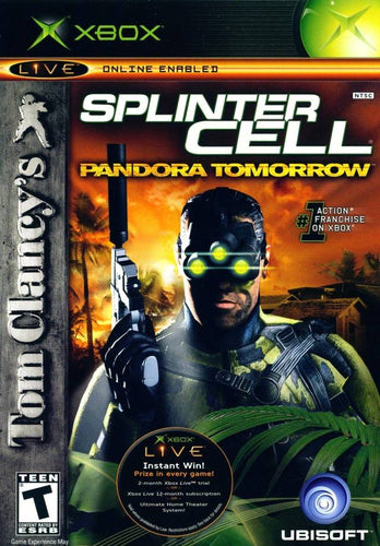XBOX Splinter Cell PandoraTomorrow