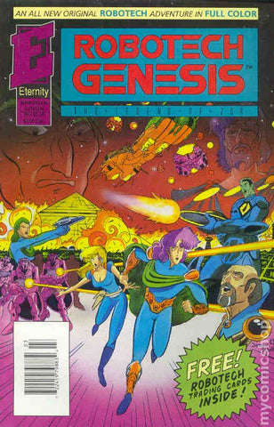 Robotech Genesis the Legend of Zor (1992) #6