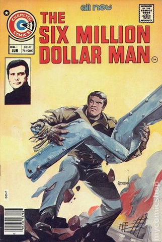Six Million Dollar Man #1 (1976 comic)