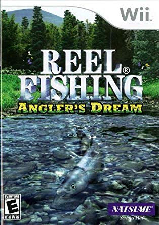 Wii Reel Fishing Anglers Dream