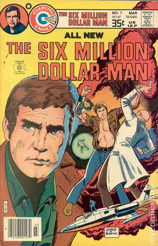 Six Million Dollar Man #7 (1976 comic)