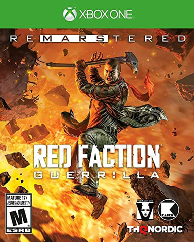 XBOX ONE new Red Faction Guerrilla Remastered