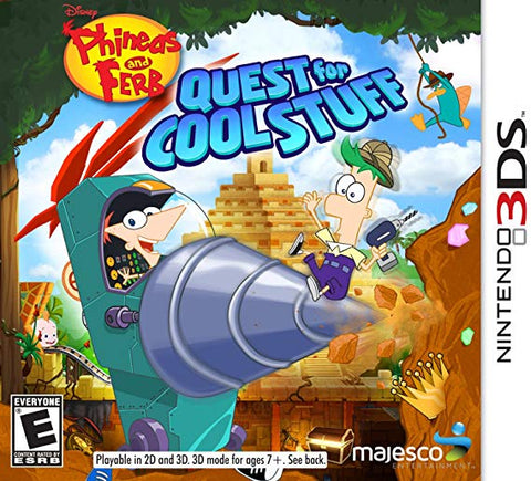 3DS Phineas & Ferb Quest for Cool Stuff