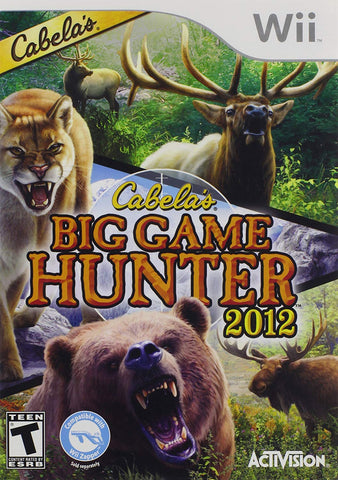Wii Cabela's Big Game Hunter 2012