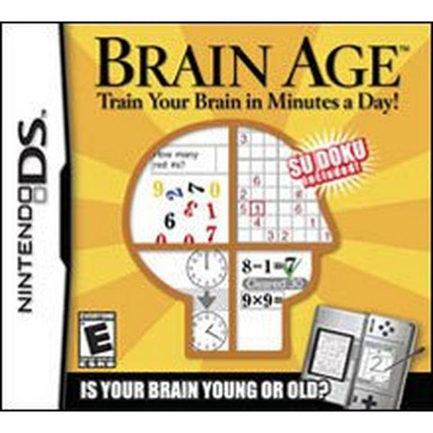 DS Brain Age: Train Your Brain in Minutes A Day