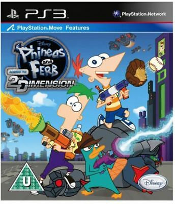 PS3 Phineas and Ferb: Across the Second Dimension