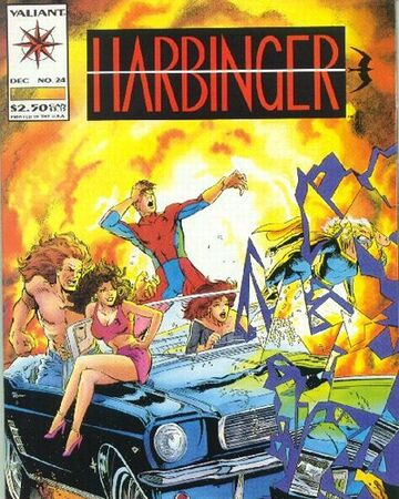 Harbinger issue 24 Valiant Comics