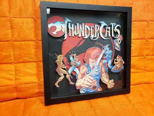 Thunder Cats Shadow box 13 x 13