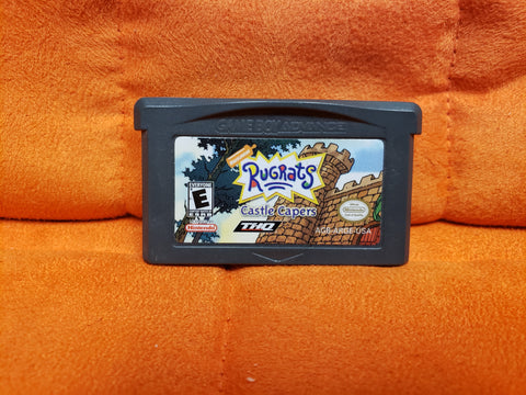 GameBoy Advance Rugrats Castle Capers