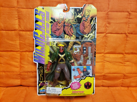 1994-95 PLAYMATES TMNT SHE-DRAGON & WILDCATS GRIFTER ACTION FIGURE