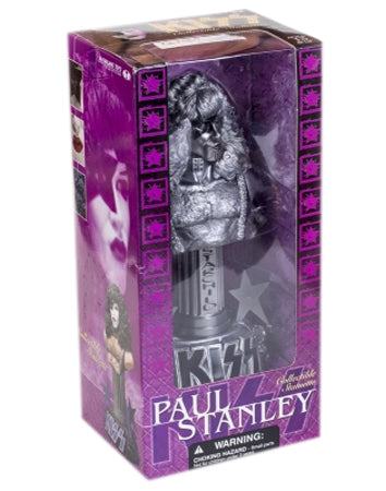 KISS 2002  McFarlane  KISS Paul Stanley  The Starchild  Collectible Statuette Bust silver