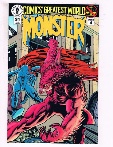 Comics Greatest World Monster #4