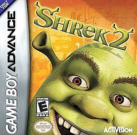 Gameboy Advance Shrek 2