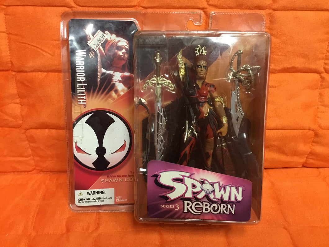 McFarlane SPAWN REBORN SERIES 3 Warrior Lilith (japan import)